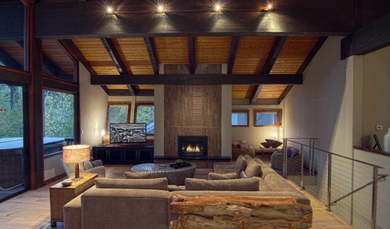 fireplace, room, design, living, interior, reason, style, house,