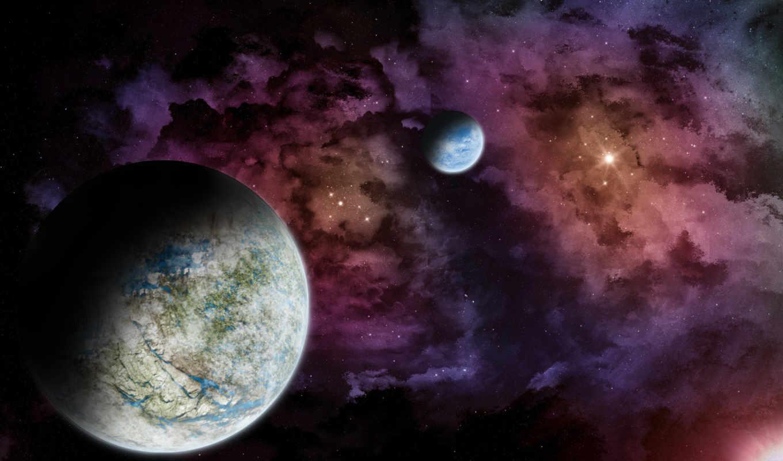 行星, widescreen, download, heart, weltraum, resolutions,