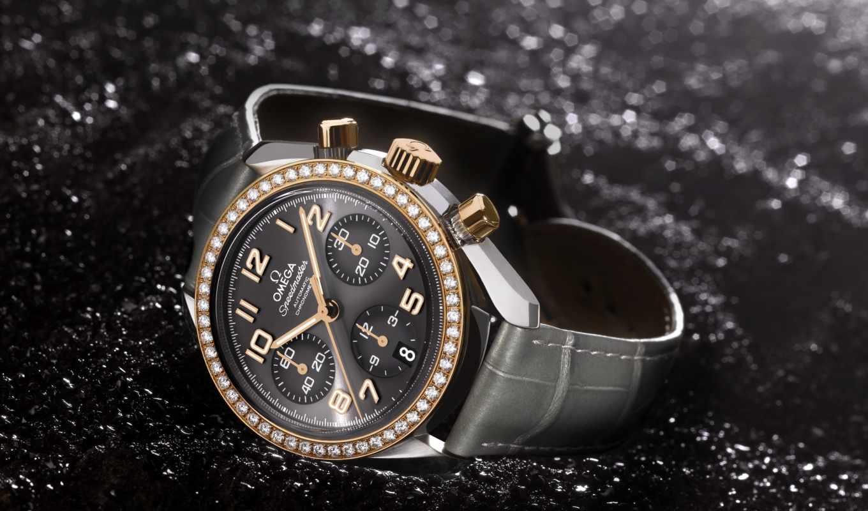 часы, мужские, швейцарские, omega, speedmaster