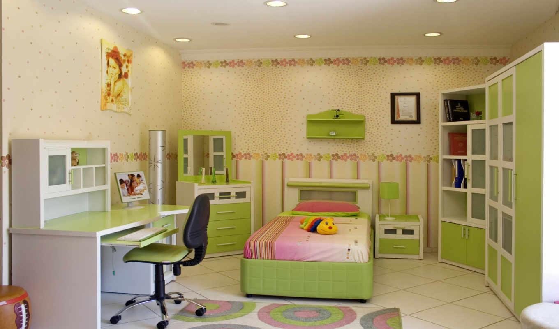 детской, комнаты, дизайн, дизайна,
