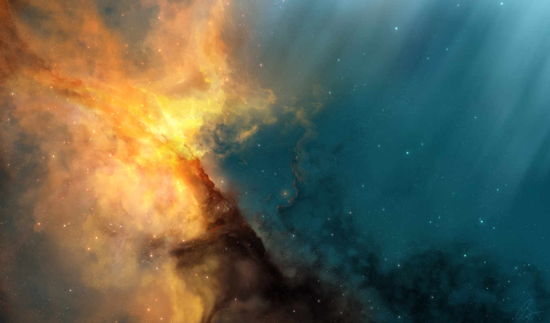 cosmos, universe, art, красавица, развернуть, nebula, песочница, красиво,