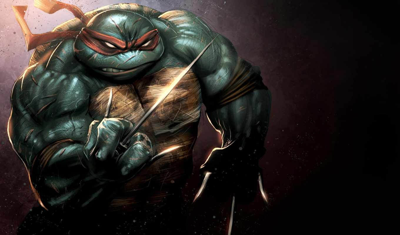 turtles, ninja, лапе, detail, rafael, mutant, teenage, черепашки, you,