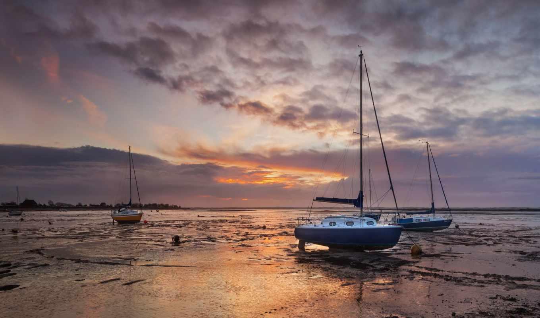 you, refresh, восход, лодка, boats, sailboat,