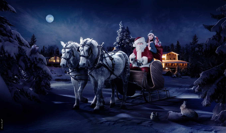 дед, иней, new, год, праздники, christmas,