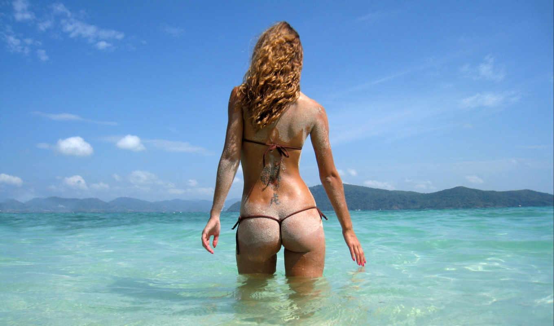 summer, sexy, девушка, море, снег, gandex,