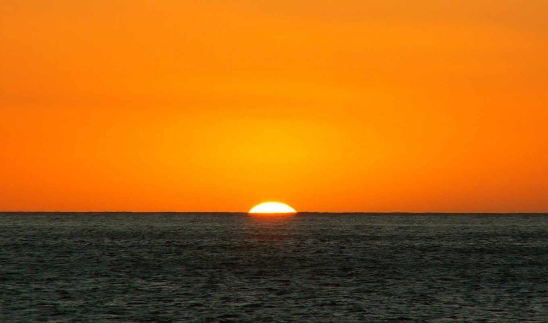 море, закат, пейзаж, sunset, nature,