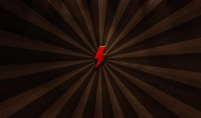 стрела, линии, лучи, молния, красная, lightning, arrow, wallpapers, похожие,