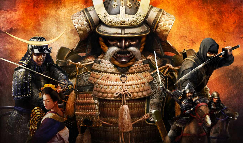 shogun, total, игры, war, samurai, games,