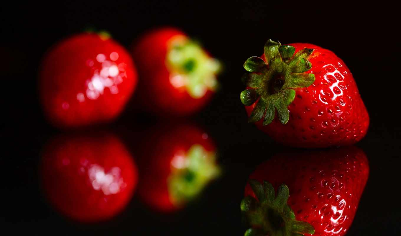 красивые, ягода, клубника, благо, black, фоны, фрукты, дневника, клубничка, красивая,
