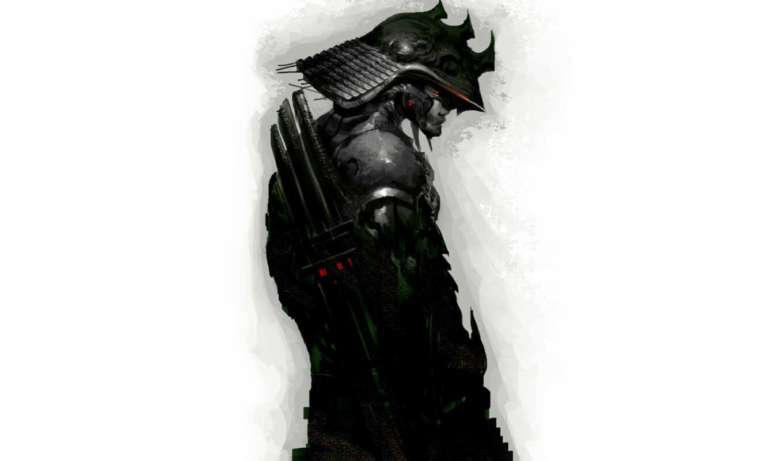 samurai, patleeart, фэнтези, black, текносамурай, mukesh, kashyap, инопланетный, sword, солдат, ubuntu, linux,