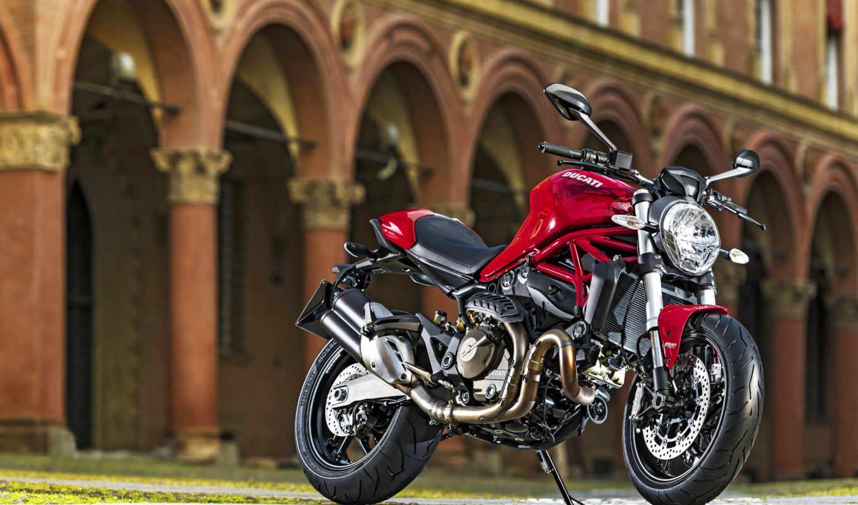 ducati, bike, monster, bikes, red, мотоцикл, motorcycles, free,