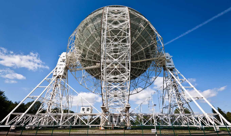 , телескоп, радио, небо