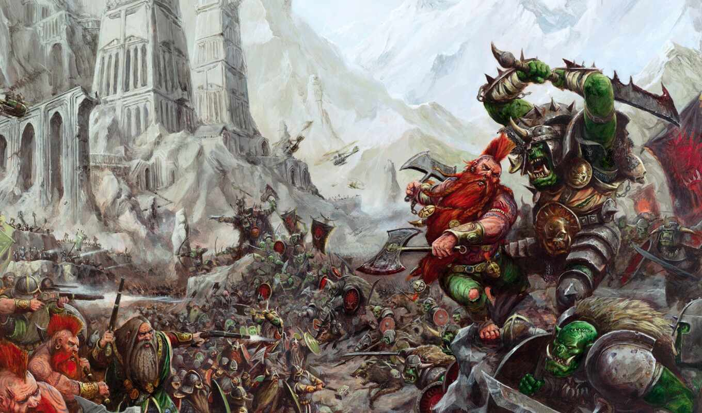 warhammer, fantasy, war, battles, total, орки,