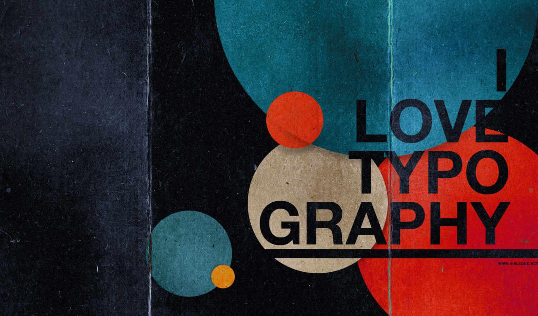 типографика, love, графика, вид,