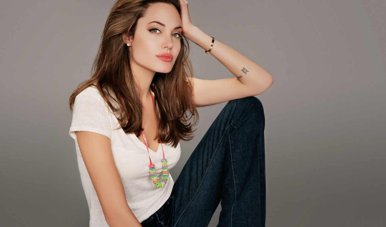 white, рубашка, angelina, jolie, джинсы, blue, desktop, free,
