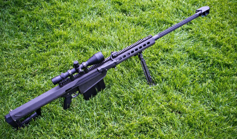 винтовка, barrett, крупнокалиберна, снайперская, самозарядная,