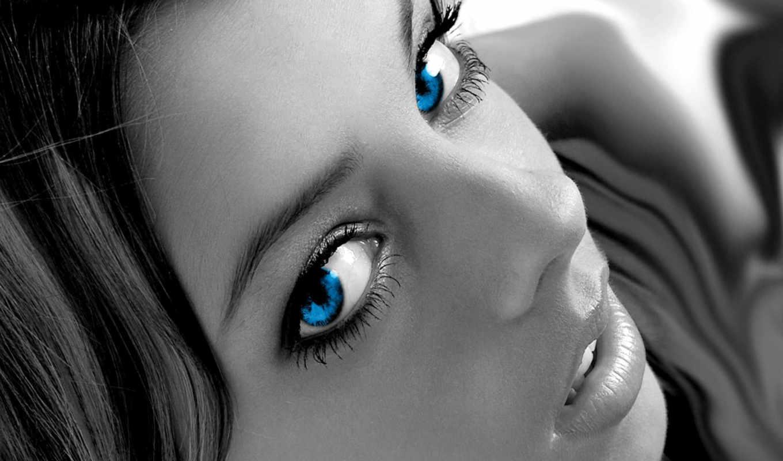 голубоглазые, красавицы, devushki, девушек, глазами, голубыми, подборка,