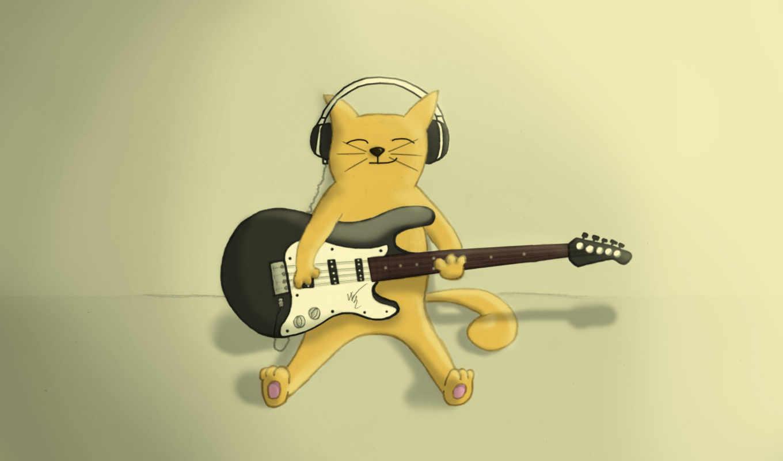 музыка, аватары, аву, кошки, авы, аватар, рисунки, картинка, аватаров, предметы, гитара,
