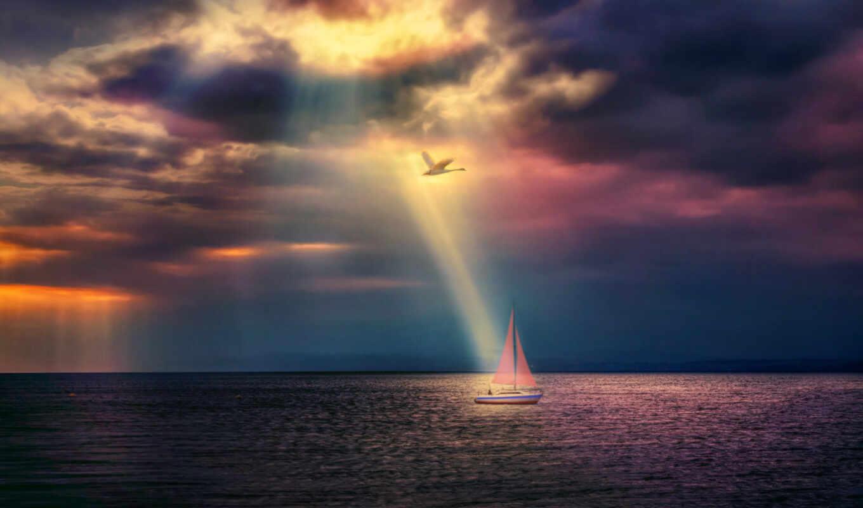 stoloboi, море, sun, корабль