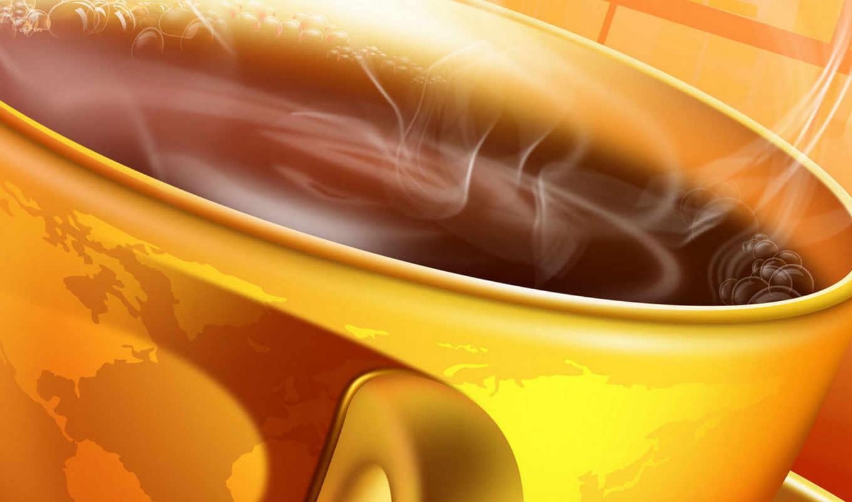 чашка, coffee, world, напиток, пар, jojo, горячий, утро, café, map, коллекция, organo, gold,