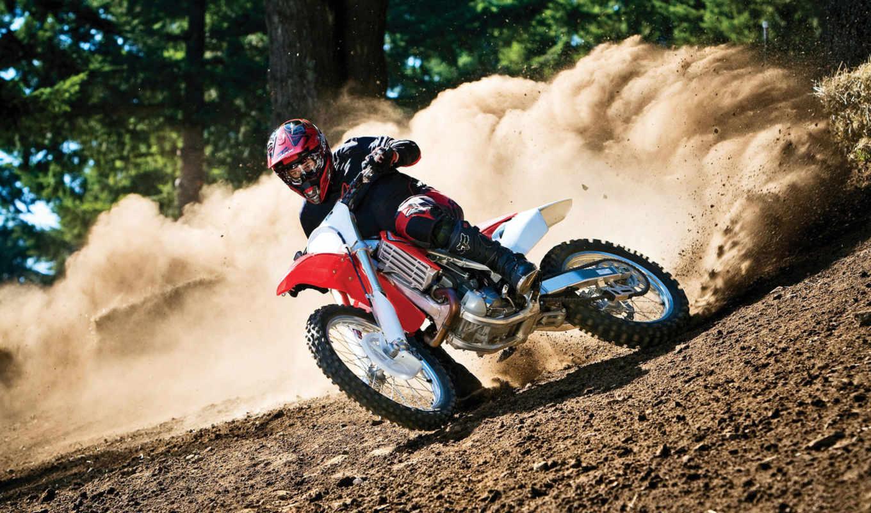 мотокросс, спорт, мотоцикл, совершенно, свой,