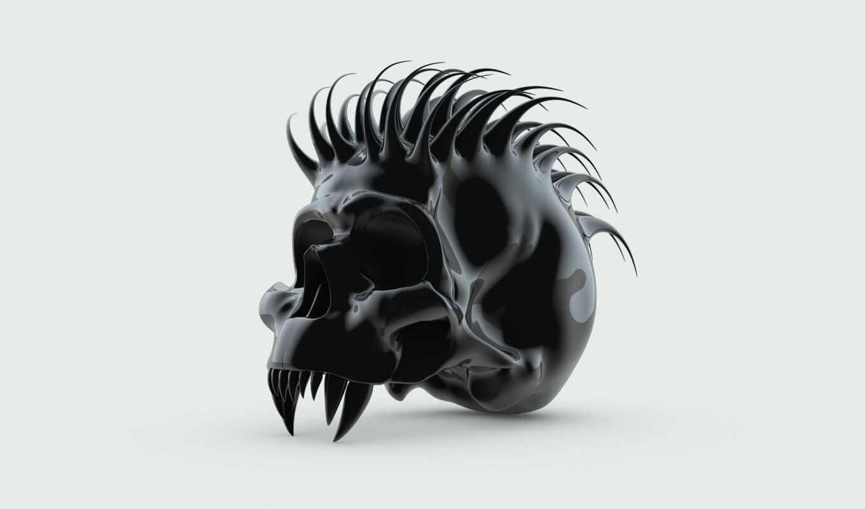 череп, fang, thorn