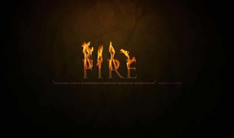 черный, огонь, kindle, надпись,