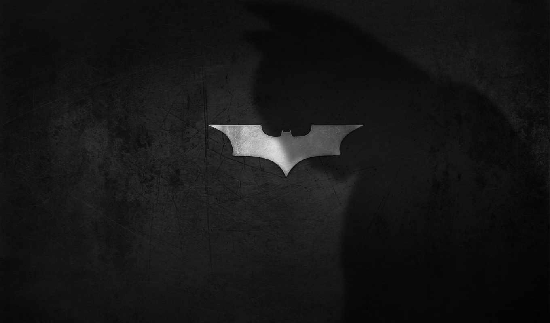бэтмен, тень, логотип, тёмный, рыцарь, фильм,
