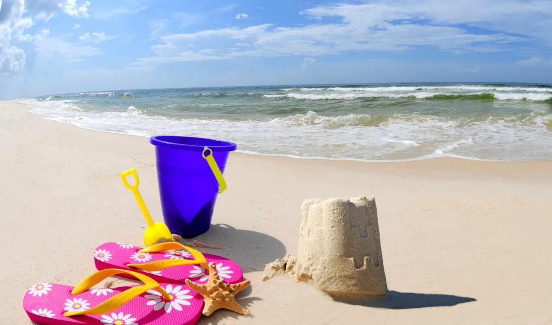 sand, castle, природа, море, пляж, клипарт, photo, stock, песка, горизонт, растровый, побережье,