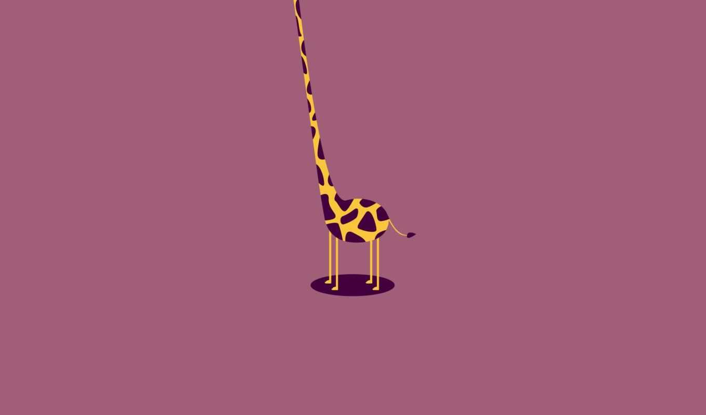 жираф, шея, безголовый, кнопкой, туловище, картинку, правой, картинка,