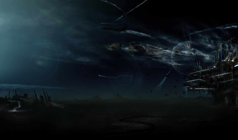 space, база, galaxy, планета, graphics, нападение, cosmos, dark, planets,