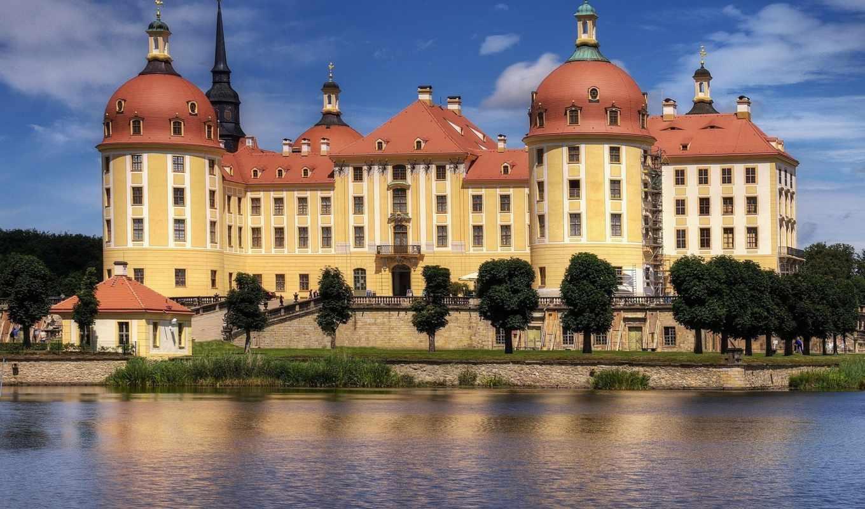 архитектура, городская, moritzburg, download, города, замок, germany, share, için,