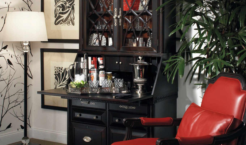 шторы, широкоформатные, кресло, шкаф, красивых, подборка,
