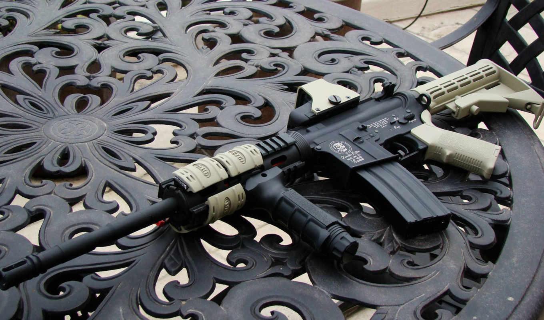 ,оружие, винтовка, м-16, автомат,