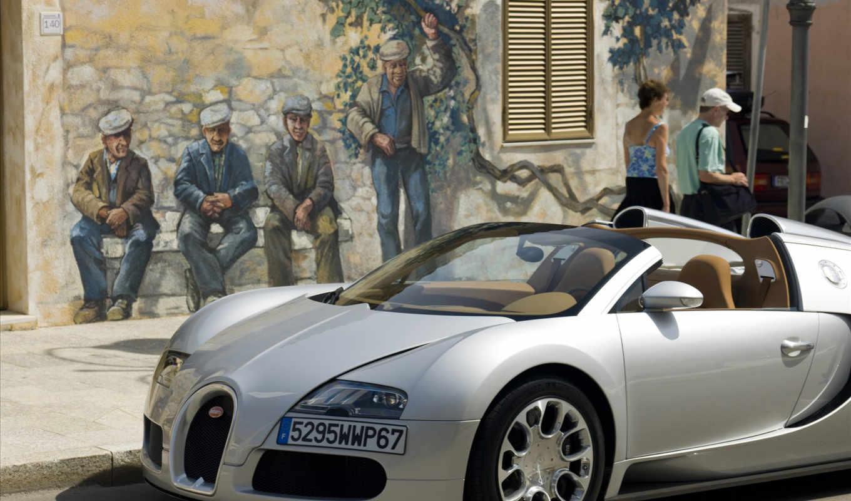 veyron, bugatti, спорт, супер,