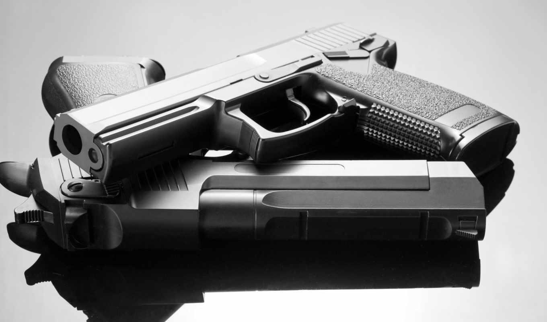 gun, пистолеты, оружие, смотрите,