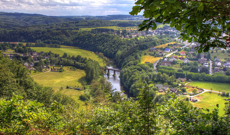 германия, windeck, города, бавария, wonderful, town, виндек, view, rhine,