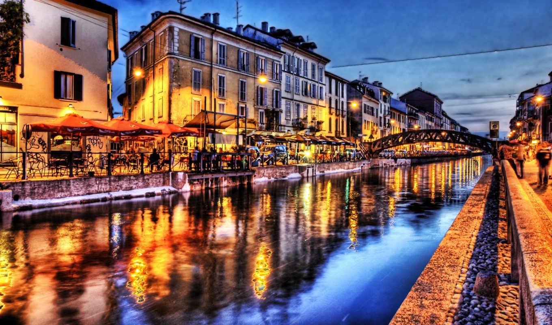 мира, городов, города, река, мост, architecture, река, город,