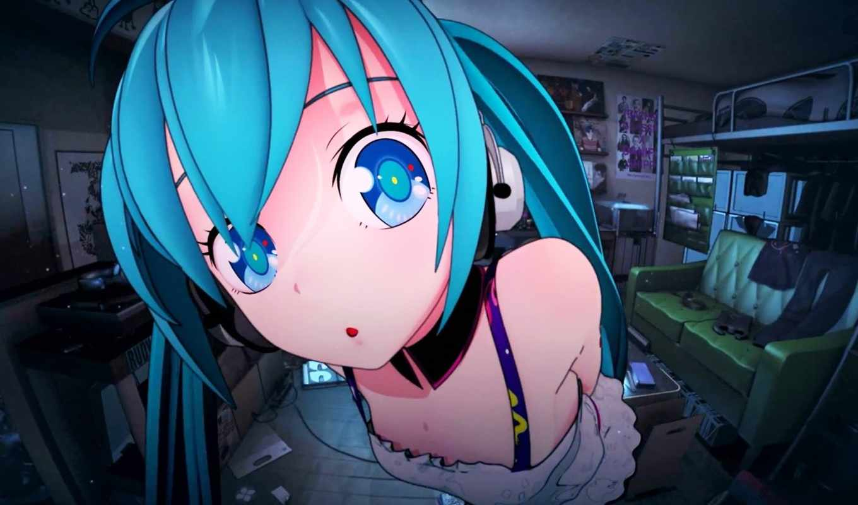 anime, miku, hatsune, desktop, you, pinterest,
