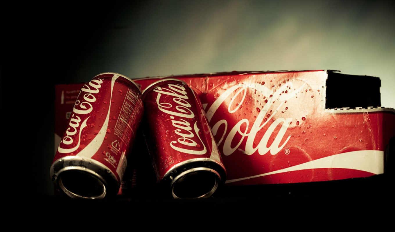 coca, cola, кока, кола, напиток, баночка, упаковка, wallpaper,