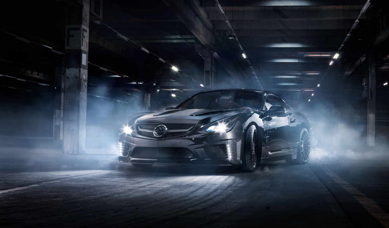 mercedes, benz, amg, klasse, carlsson, cls, black, автомобили, картинка,