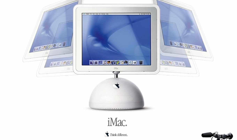 imac, креативные, белые, apple,