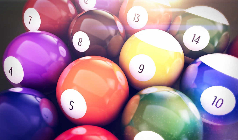 pool, balls, wallpaper, head, шары, light, hd, бил