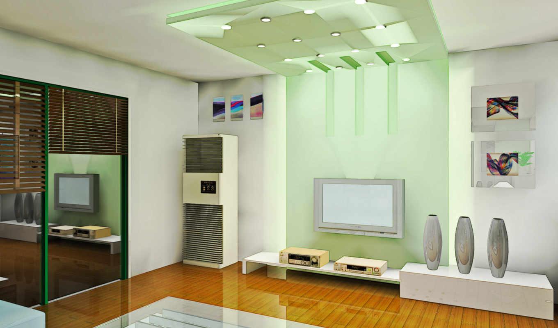 living, room, жизайн, квартира, стиль, интерьер, зелёный, design, lau, картинка,