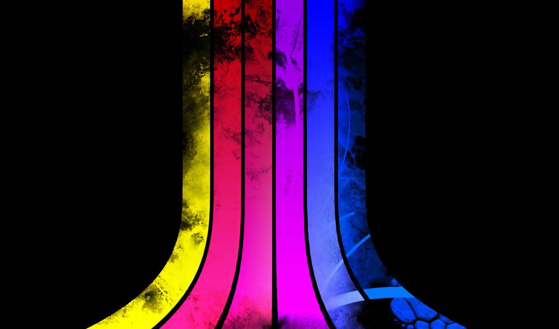 spectrum, спектрум, линии, atari, abstract,