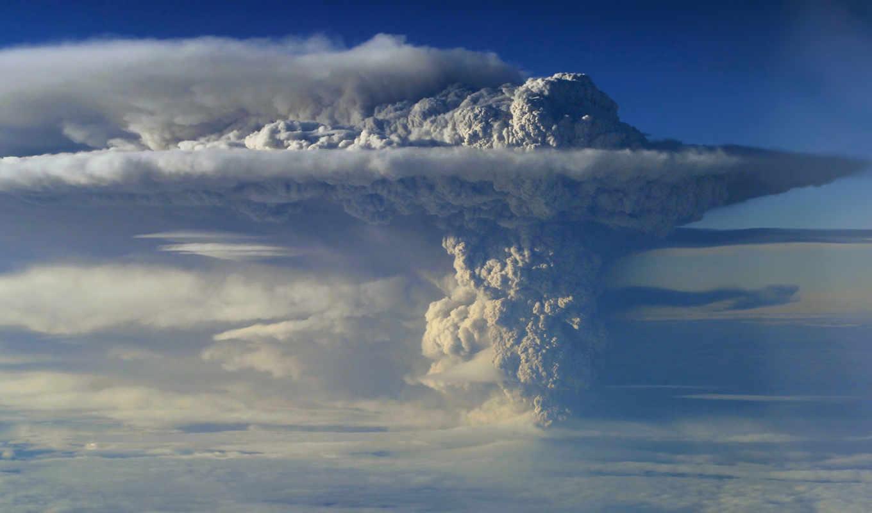 puyehue, вулкана, пуйеуэ, вулкан, чили, дым, извержение, пепел, столб, пепла, vulcão,