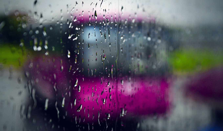 дождь, подборка, красивых, que, дождя, девушек,