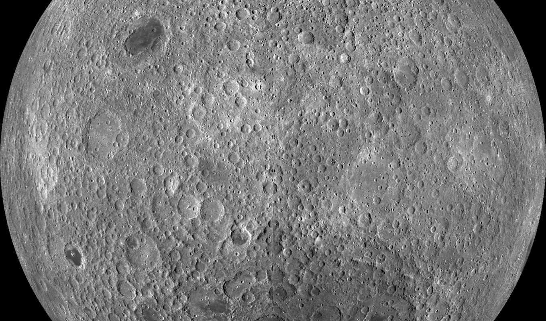 луны, сторона, обратная, луна, была, впервые, сфотографирована, февр, земли,