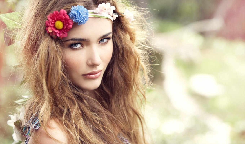 за, уход, flores, девушек, ornati, нужно, счастья,