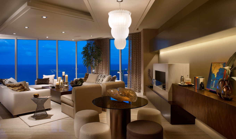 кресла, ев, столики, стиль, dekorasyon, современный, комната, exterior, нравится, графика, люстра,